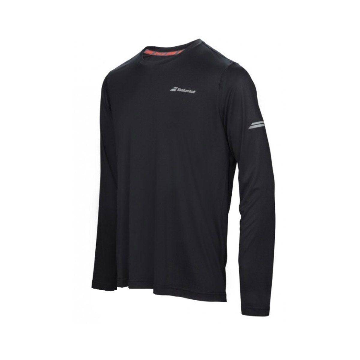 3507a256 Babolat Core Long Sleeve Men's Top – Black - Peake Performance Sports