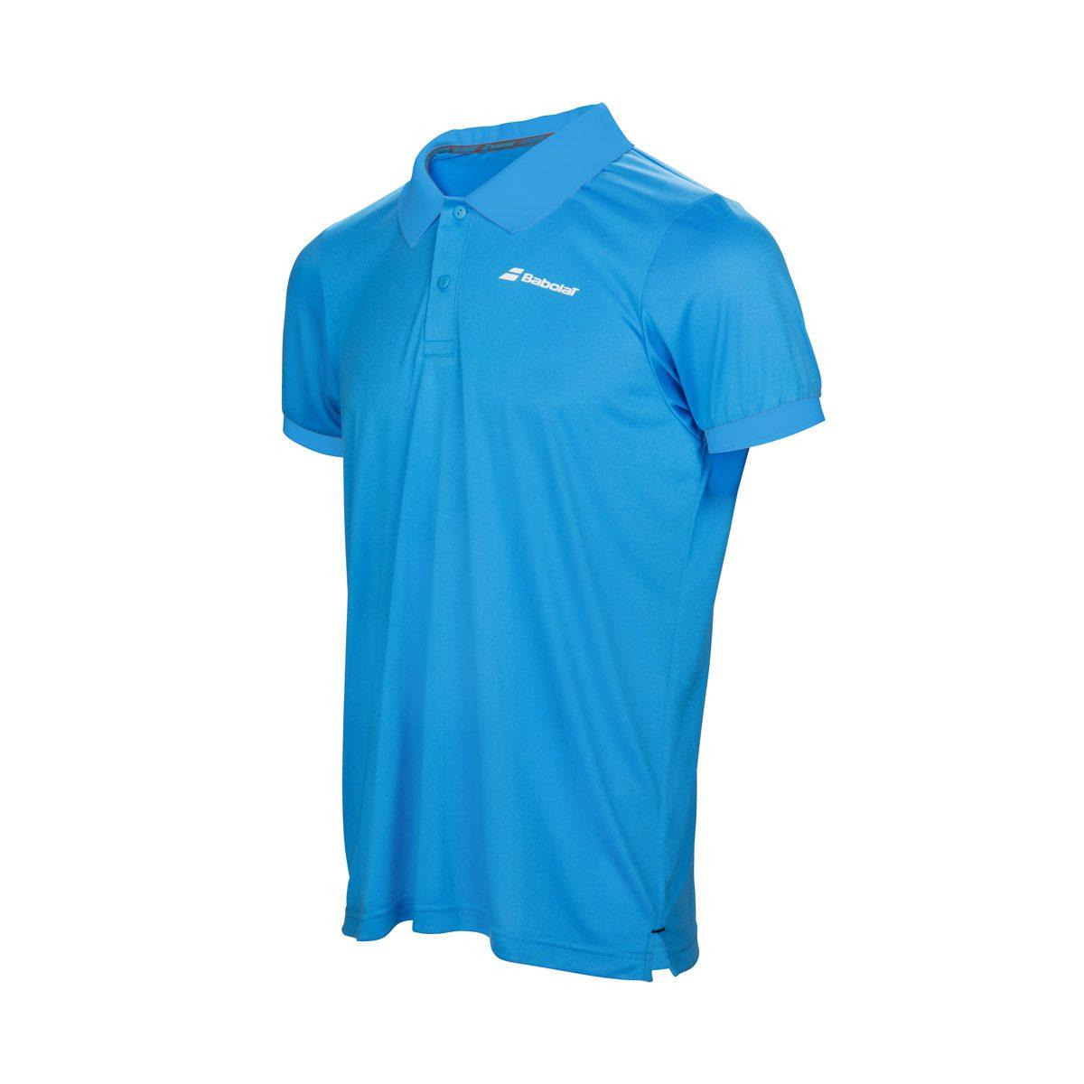 Babolat Men S Core Club Polo Shirt Blue Peake