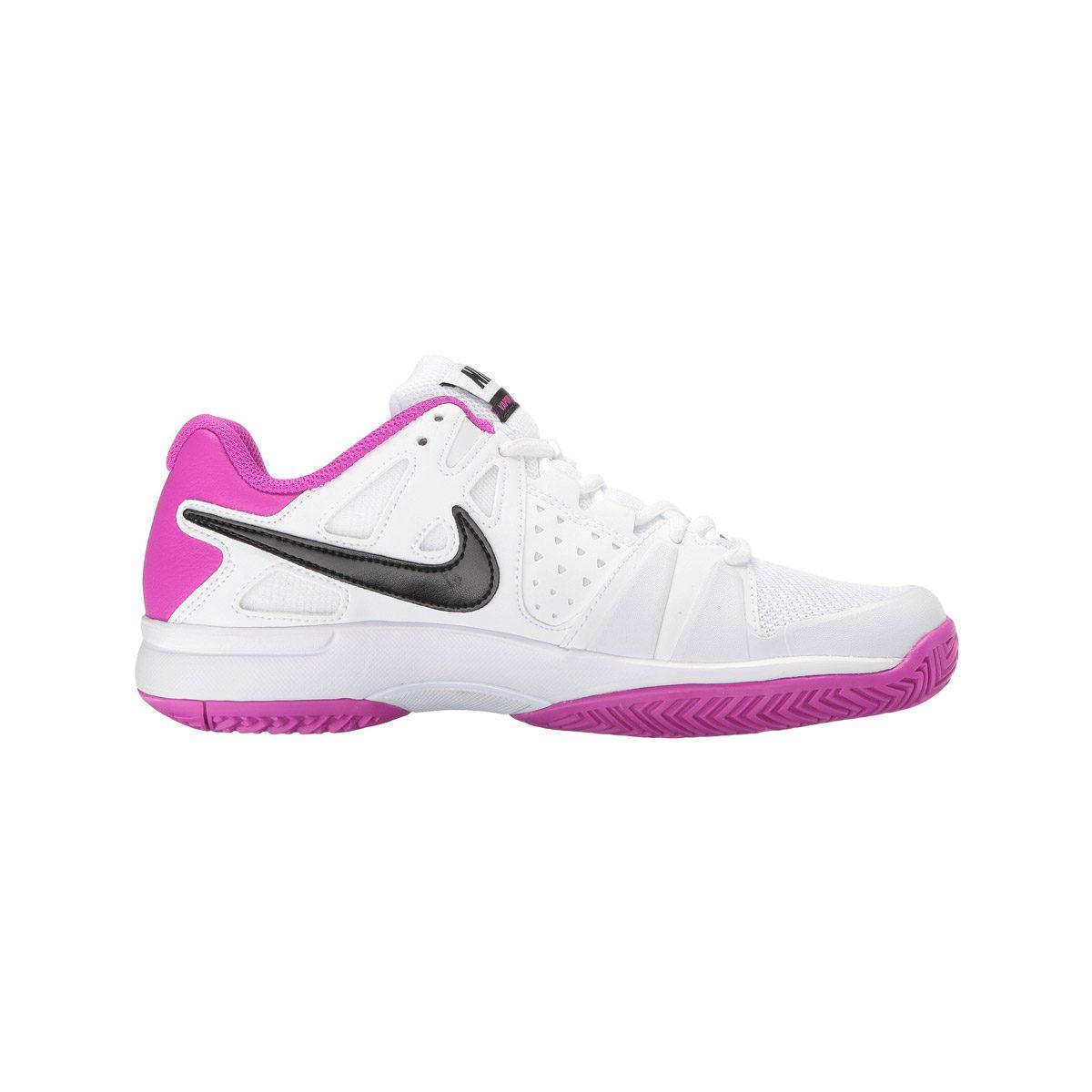 5bed5d3c2ed Nike Air Vapor Advantage Women s Shoes - White Pink - Peake ...